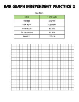 Bar and Line Graph Bundle
