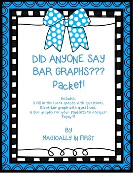 Bar Graphs Packet!