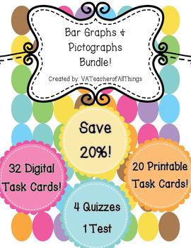 Bar Graphs & Pictographs Bundle SOL 3.15