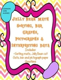 Bar Graphs, Pictographs and Interpreting Data - Jelly Bean Theme - Common Core