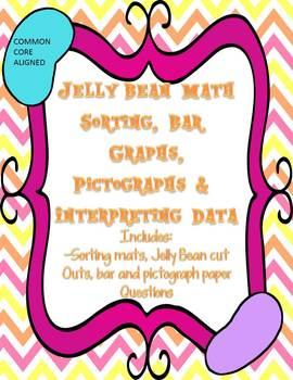 Bar Graphs, Pictographs and Interpreting Data - Jelly Bean