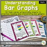 Graphing and Data: Bar Graphs Task Cards