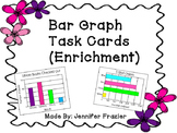 Bar Graphs Task Cards (Enrichment Version)