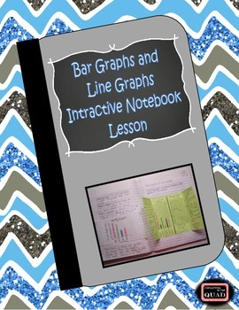 Bar Graphs and Line Graphs Interactive Notebook Lesson