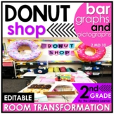 Bar Graphs and Pictographs   2nd Grade Donut Shop Classroom Transformation