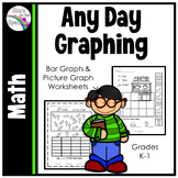 #SpedSummer3 Bar Graphs and Picture Graph Printables