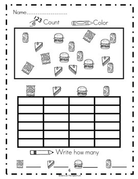 Graphing Activities Bundle * Bar Graph and Picture Graph Activities