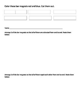 Bar Magnet Attract/Repel Lesson
