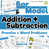 Bar Model Addition and Subtraction Practise and Word Probl