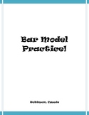 Bar Model Practice-addition