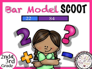 Bar Model Scoot: Addition Number Stories (Math in Focus Practice)