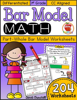 Bar Model Worksheets-Differentiated