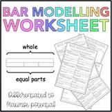 Bar Modelling Worksheet