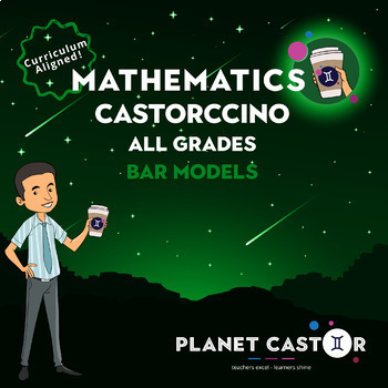 Bar Models | ALL Grades | Castorccino Pack