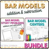 Bar Models BUNDLE:  Story Problems for Common Core and Sin