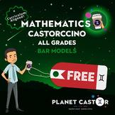 Bar Models | FREE | ALL Grades | Castorccino Pack