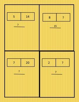 Bar Models Quiz Quiz Trade Cards
