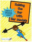 Bar Models: Word Problems 5th Grade Addition & Subtraction Decimals Centers