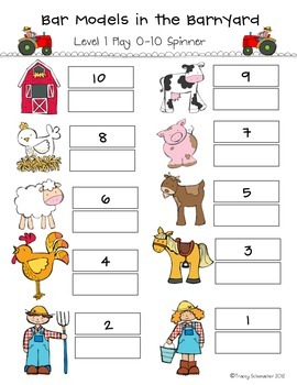 Bar Models in the Barnyard - Decomposing Numbers