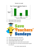 Bar Graph Worksheets (2 levels of difficulty)