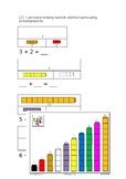 Bar modelling missing number sums