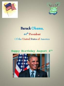 Barack Obama, 44th President of the United States of America