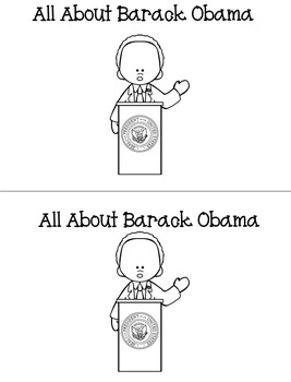 Barack Obama Activities Packet