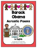 Barack Obama Activities in English (BUNDLE)