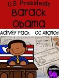 Barack Obama Activity Pack {K-2}