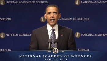 Barack Obama Addresses the National Academy of Sciences: speech and exercises