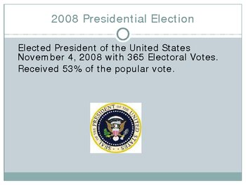 Barack Obama Biographical Slideshow