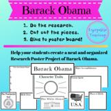 Barack Obama Biography Research Poster Kit