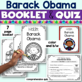 Black History Barack Obama Booklet for Young Readers - Eme