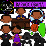 Barack Obama Clipart {Creative Clips Clipart}