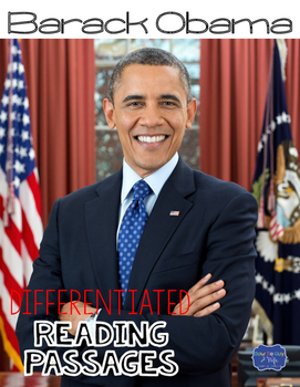 Barack Obama Differentiated Reading Passages & Questions