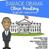 Barack Obama Digital Close Read