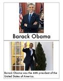Barack Obama-- Emergent Reader