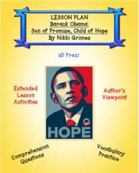 Barack Obama Lesson Plan and Prezi