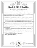 Barack Obama--Level 1 Reading in Spanish