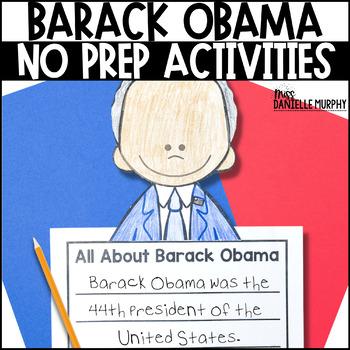 Barack Obama Unit President's Day or Black History Month