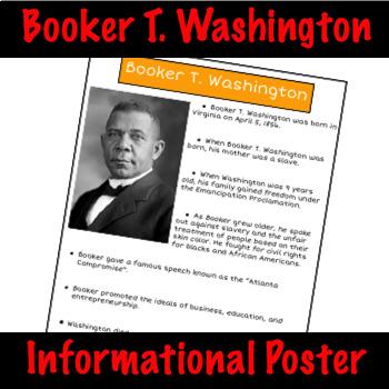 Booker T. Washington - Nonfiction Fact Sheet