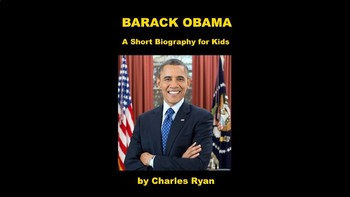 Barack Obama PowerPoint Biography with Review Quiz