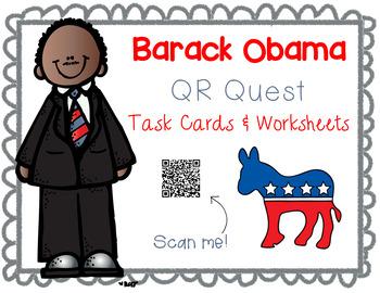 Barack Obama QR Quest