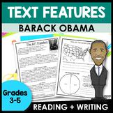 Nonfiction Text Features Barack Obama | Black History Mont