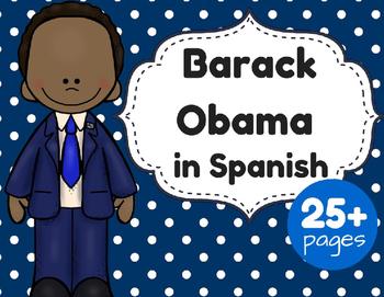 Barack Obama in Spanish (Dia de los Presidentes)