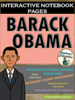 Barack Obama's Interactive Notebook Pages