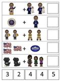 Barack Obama themed Math Addition preschool printable math