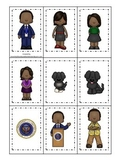 Barack Obama themed Memory Matching preschool printable le