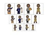 Barack Obama themed Size Sorting preschool printable child