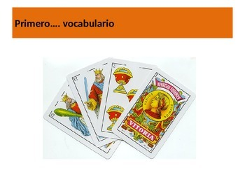 Baraja Española Explicación y Juego / Spanish Playing Cards Explanation and Game
